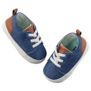 🌱 Carter's Chambray shoes